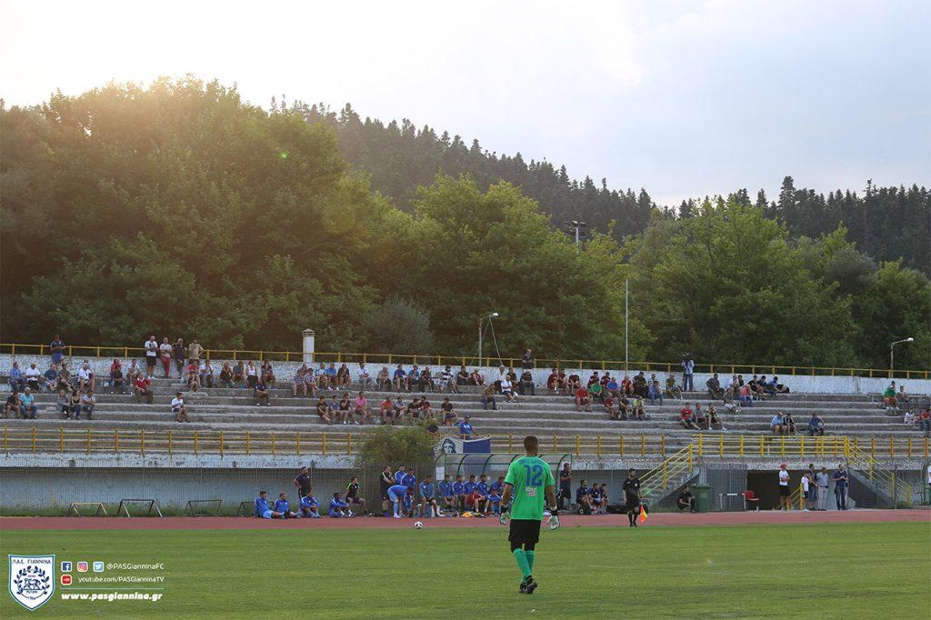 ΠΑΣ ΓΙΑΝΝΙΝΑ – Α.Ε.Λ. 1-0 στο φιλικό στο Καρπενήσι