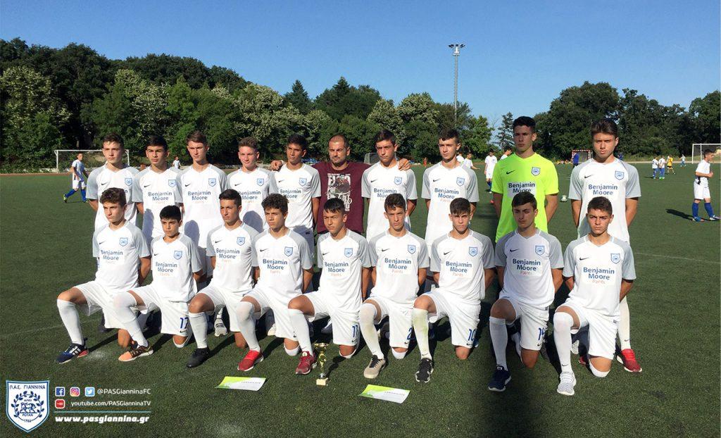 Νικητές επιστρέφουν από το Colonia Cup 2018 οι ομάδες υποδομών